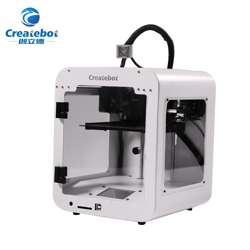 High Quality Createbot Super Mini 3D Printer Touch Screen Single extruder impresora 3d 85*80*94mm Printing Size 3D Printer цена