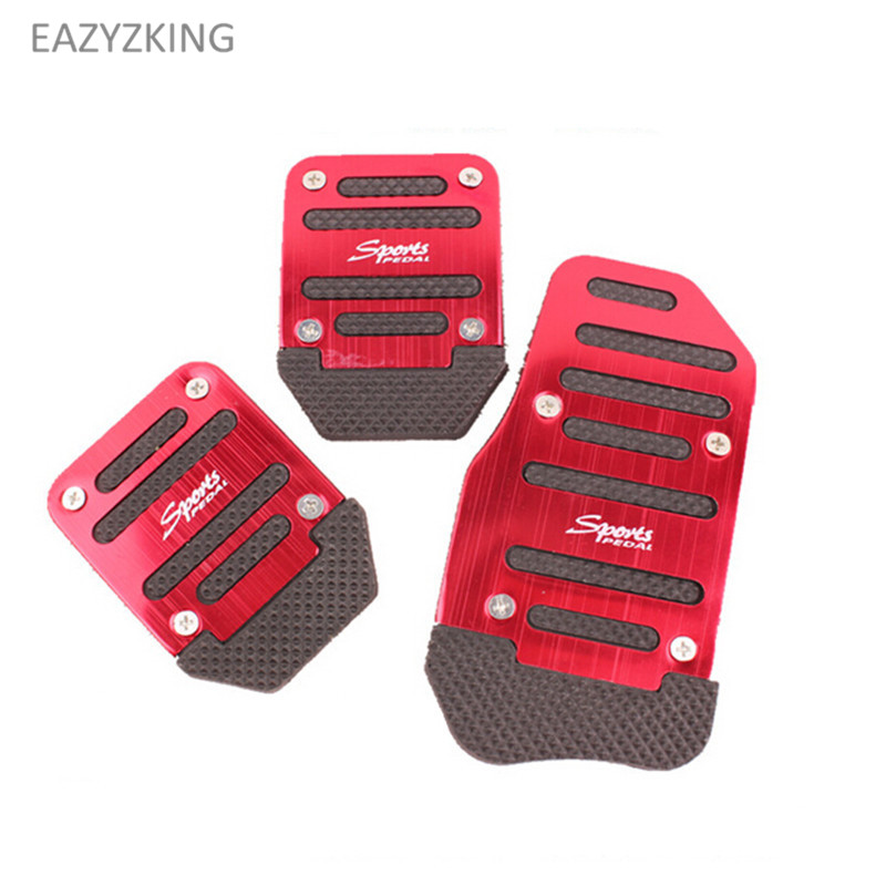 Car styling gas brake pedal caso para Lada Vesta Granta 1300 Niva Samara Signet priora Kalina safarl largus Vaz 2110 -12 2106 2107