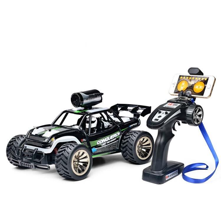 1:16 échelle 2.4g Haute Vitesse Télécommande RC voiture BG1516 WIFI FPV racing voiture avec caméra buggy off charge voiture