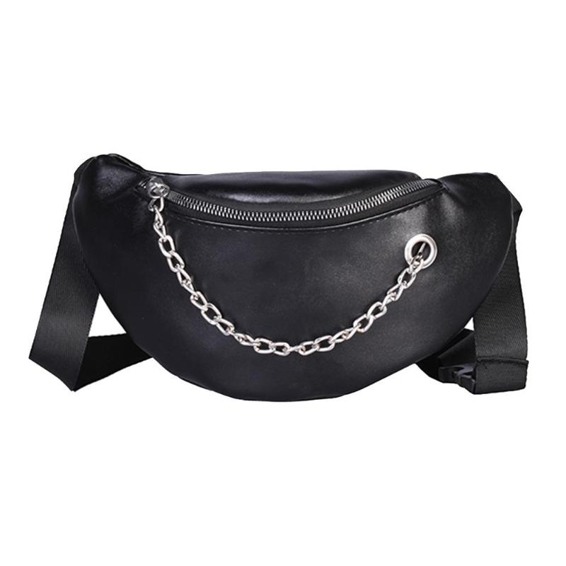Fine Jewelry Neutral Style Waist Packs Women Men Sport Leather Beach Bag Chain Messenger Crossbody Bags Sac Ceinture Femme