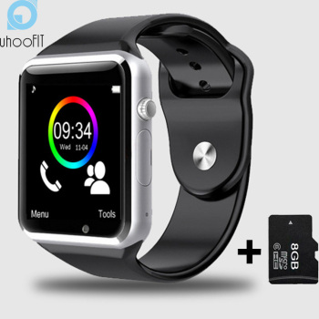 Child Bluetooth Smart Watch Men With Camera Facebook Whatsapp Twitter Sync SMS Smartwatch Support SIM TF Card For Android PK A1