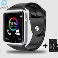 Criança Homens Relógio Bluetooth Inteligente Com Câmera Whatsapp Facebook Twitter SMS Sync Smartwatch SIM Suporte o Cartão Do TF Para Android PK A1