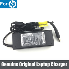 Original 90W 19.5V 4.62A Adapter Chargerแหล่งจ่ายไฟสำหรับHP 409515 001 7.4*5.0