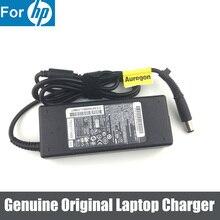 Orijinal 90W 19.5V 4.62A adaptörü şarj güç kaynağı için HP 409515 001 7.4*5.0