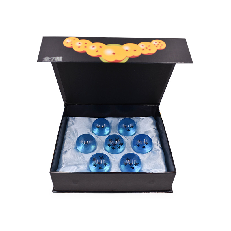 2 Styles lot 7 pcs set 3 5 cm Anime Dragon Ball 7 Stars Crystal Balls Dragonball PVC Model Toy For Children Christmas Gift in Action Toy Figures from Toys Hobbies