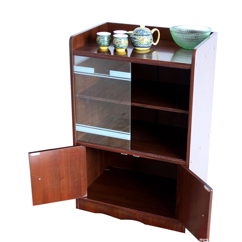 Storage small living room dining room sideboard tea cabinet glass ...