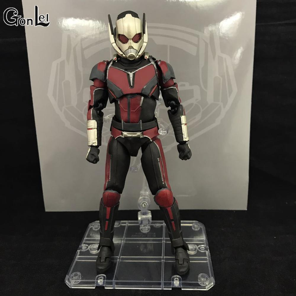 NEW hot 17cm avengers Ant-Man Black Panther movable Action figure toys doll collection Christmas gift new hot 22cm avengers hulk pants are cloth action figure toys collection christmas gift doll