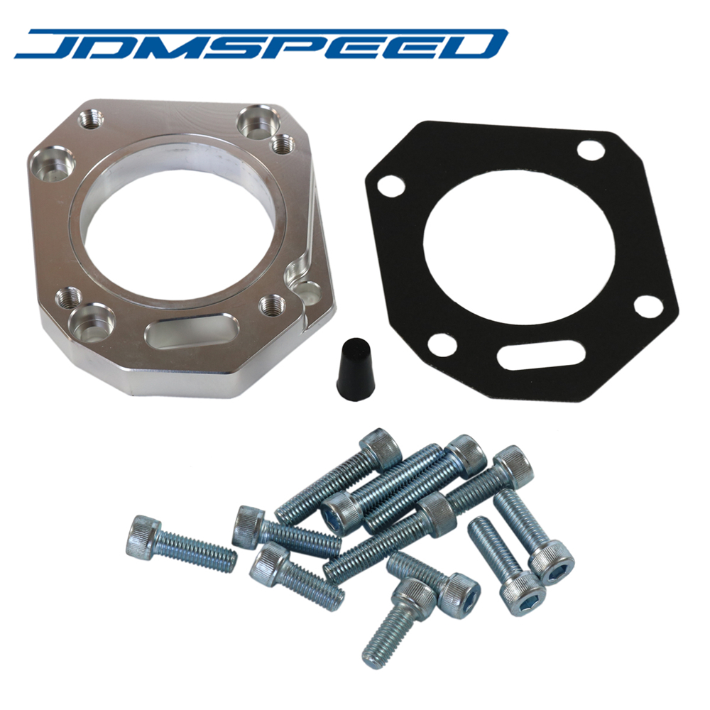 Free Shipping JDMSPEED RBC RRC Dual Throttle Body Adapter K20 k24 62 70mm both sizes