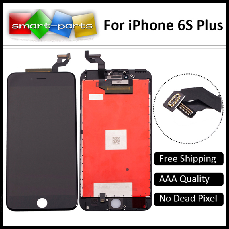 Prix pour 100% aaa qualité pour apple iphone 6s plus lcd 5.5 pouce affichage complet écran tactile digitizer réparation assemblée libre de dhl