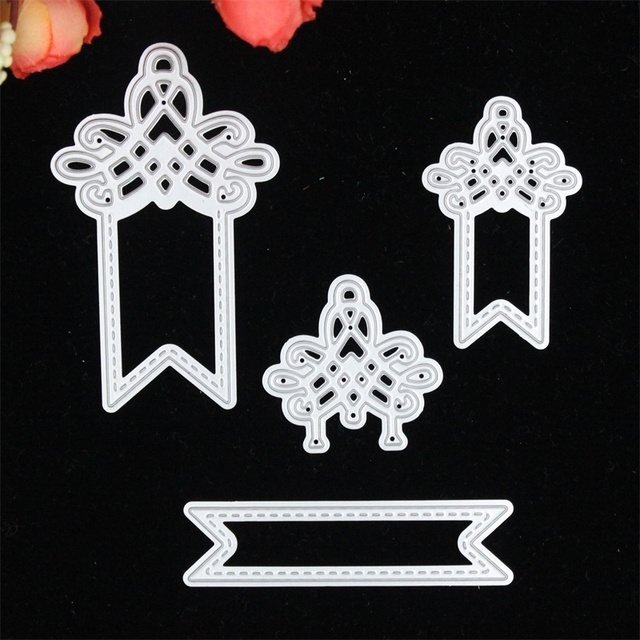 Personality Tags Metal Cutting Dies Stencils For DIY Scrapbooking Stamp Photo Album Decorative Embossing