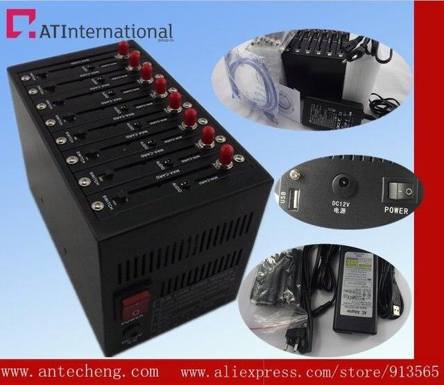 8 port modem pool Q2403 gsm modem bulk sending and receiving sms/mms