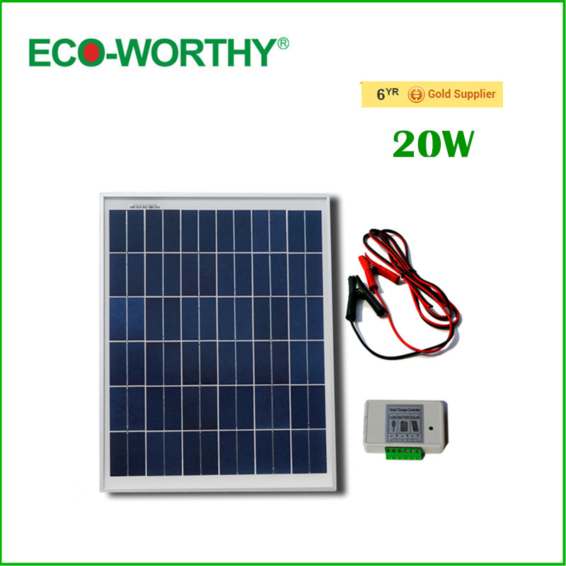 ФОТО 20W 12V polycrystalline silicon solar panel/solar system/solar battery used for 12V photovoltaic power home system, solar Module