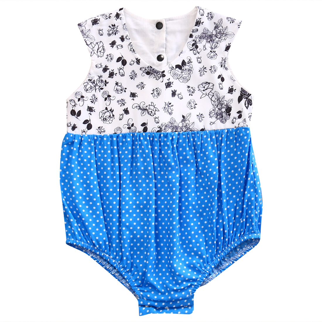 Cotton Newborn Toddler Baby Girl Floral Romper Jumpsuit Girls Summer Outfits One-Pieces Clothes