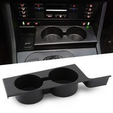 Black Front Car Cup Holder Car Accessories for BMW E39 5 Series 1997 2003 Plastic Black Portable Car Front Cup Holder
