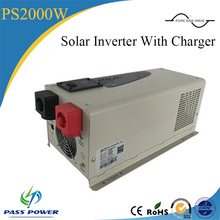 2000w photo voltaic inverter with charger/photo voltaic off-grid tie inverter/hybrid solar energy inverter