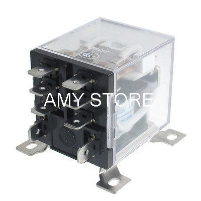 Подробнее о JQX-12F 2Z DC 12V 30A 8 Pin Electromagnetic Power Relay DPDT 2 NO 2 NC free shipping ac 220v coil electromagnetic relay 8 pins dpdt 2 no 2 nc jqx 10f 2z