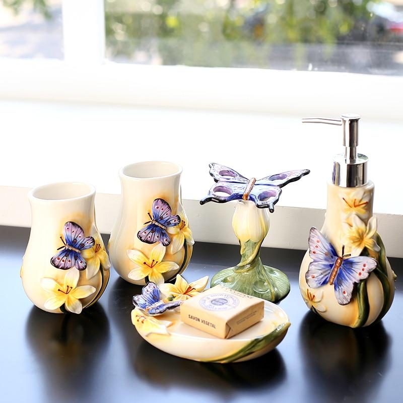 cerâmica titular dispensador sabão família acessórios decoração