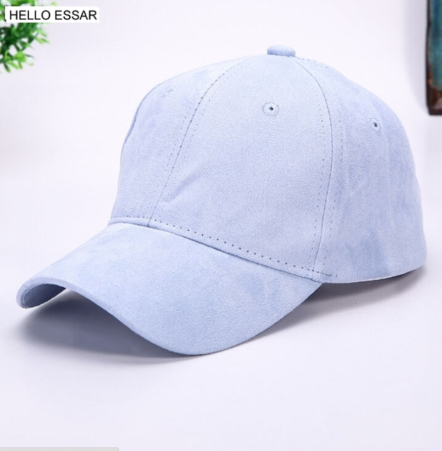 Macarons Color Baseball Cap For Man and woman Baseball Hats Casual hat  Suede Snapback Hat hip hop baseball Caps  70048 97447ae07aa