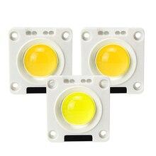 Анти-всплеск светодиодный COB Чип ac220в 50 Вт 30 Вт 20 Вт фиксатор керамическая пластина силиконовые лампы бусины для DIY прожектор Наружное освещение