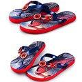 Verano de Los Niños zapatillas niños zapatillas sandalias de playa zapatillas antideslizantes hogar fresco de dibujos animados patrón de Spiderman