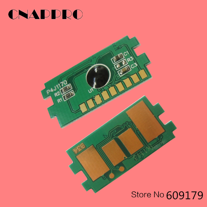 2PCS TK-1124 TK1124 toner reset cartridge chip for <font><b>Kyocera</b></font> <font><b>FS</b></font> 1060DN <font><b>1125MFP</b></font> 11225MFP 1025DPN 1060 1125 1025 1124 chips image