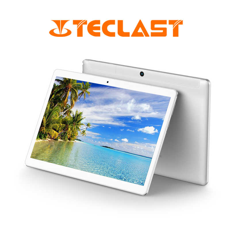 Teclast A10S Quad Core Tablet PC da 10.1 pollici Android7.0 2GBRAM 32GBROM supporto Dual Camera Dual-Band WiFi GPS HDMITablets