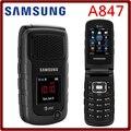 Abierto original samsung a847 1300 mah 2mp 2.2 ''3g gsm teléfono celular con el francés español portugués inglés sólo envío gratis