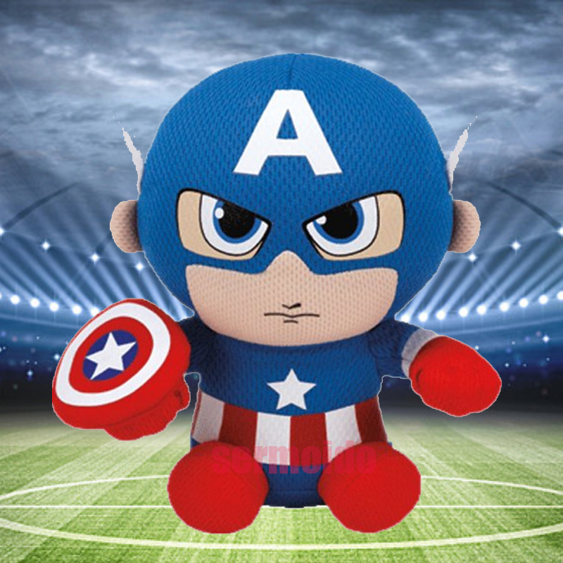 Prime Ty Marvel Captain America Plush New Beanbag Plush Beanie Gmtry Best Dining Table And Chair Ideas Images Gmtryco