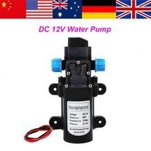1 Pc Waterpomp Hoge Druk Zelfaanzuigende Waterpomp 12V 60W Bomba De Agua 115Psi Voor Caravan camping Boot Pompe Een Eau
