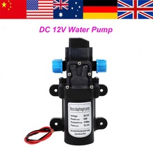 Bomba de agua de alta presión, bomba de agua autocebante de 12V 60W, bomba de agua 115Psi para caravana, Camping, barco, pompe a eau 1 pz