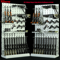 1/6 Scale 002 Modular Weapons Arms Display Wall Gun Rack Stand (Weapons not include) Infinite expansion 12 Inch Soldier Figure*