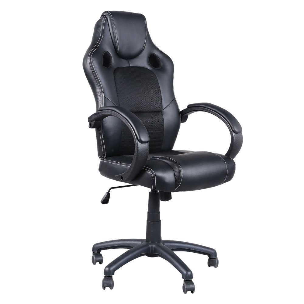 цена High Back Swivel Chair Racing Gaming Chair Executive Office Chair Gas Lift Dropshipping