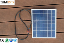 Solarparts 1x 10W polycrystalline solar panel module cell system 12V DIY kits for toys light led science toy experiment outdoor