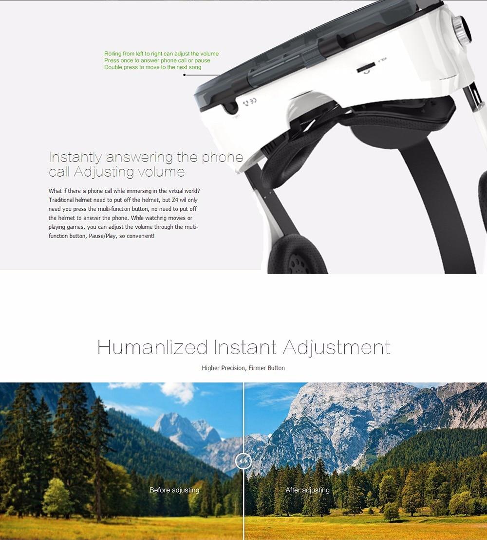 VR BOX BOBOVR Z4 Virtual Reality goggles 3D Glasses Google cardboard BOBO VR GLASSES Z4 Headset for 4.3 - 6.0 inch smartphones 30