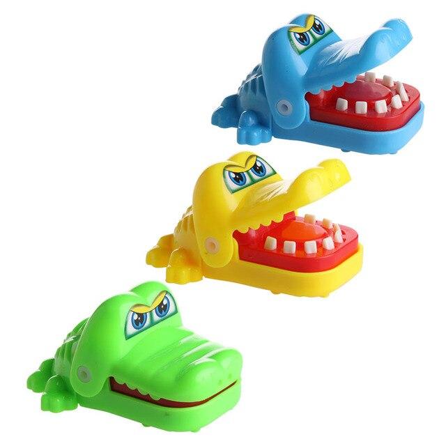 85c417406 جديد لطيف التمساح الفم طبيب الأسنان لدغة فنجر لعبة مضحكة لعبة أطفال الأطفال  هدية