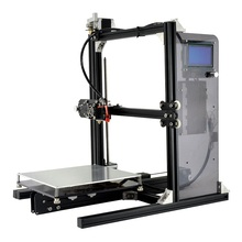 2017 Most Popular and Affordable Reprap Prusa I3 Printer Metal Frame 3D Printer China with One Roll Filament SD card for Free