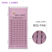 SONG LASHES 0.07 thickness premade volume big fans 5D  Big fan Eyelash Extension eyelash extension