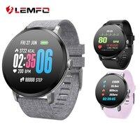 LEMFO Smart watch IP67 Waterproof Heart Rate Blood Pressure oxygen monitor Activity tracker Fitness Bracelet for Men women