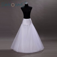 New Arrivals Tulle A-line Lace Edge Wedding Petticoat Floor Length Bridal Petticoats