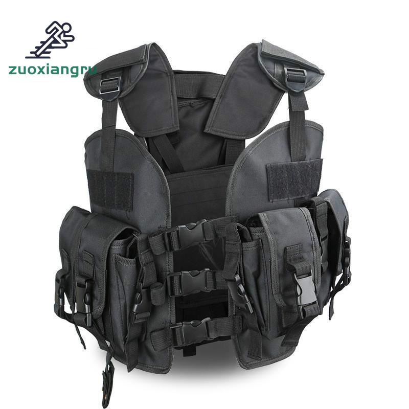 Unloading Men Multi-pocket Tactical Hunting Vest 6 Colors Camouflage  Molle Soft Body Military Vest Army Tactical Vest ChalecoUnloading Men Multi-pocket Tactical Hunting Vest 6 Colors Camouflage  Molle Soft Body Military Vest Army Tactical Vest Chaleco
