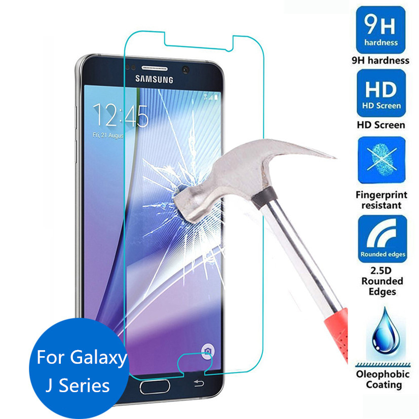 9H Tempered Glass Protective Film font b Case b font For Samsung Galaxy J1 Ace J2