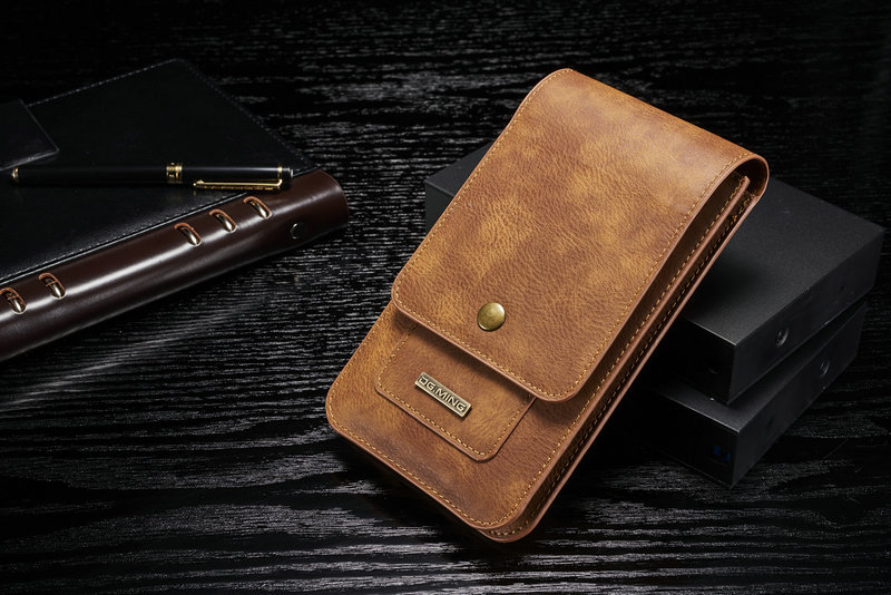 Waist Belt Phone Leather Case Hook Loop Pouch For Galaxy S10 S9 S8 S6 S7 EDGE Plus Note8 Note 9 A8S A6S A8 A9 Star J4+ J6+ J8 J6
