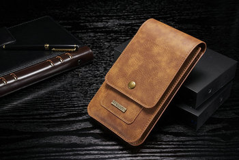 Waist Belt Phone Leather Case Hook Loop Pouch For Xiaomi Redmi K20 Mi 9T,ZTE nubia Red Magic Mars,Blade V10,For Nokia 4.2