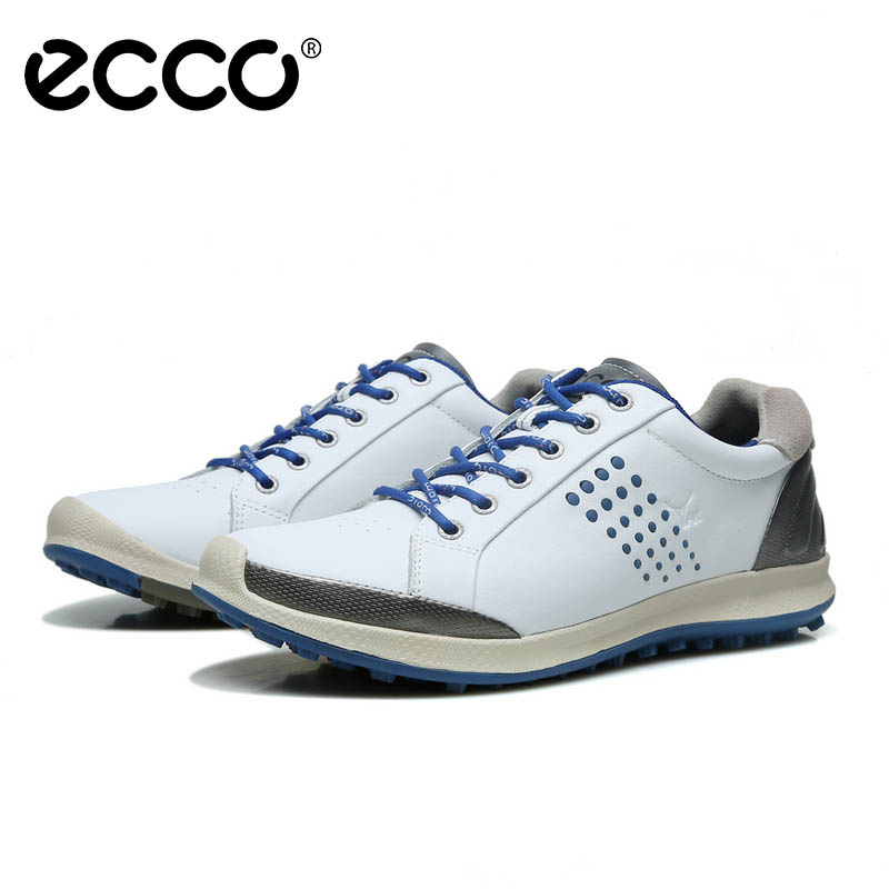 ECCO men Shoe Golf Biom Hybrid 2 Leather Casual Shoes Breathable Cushioning Golf leather footwear Za