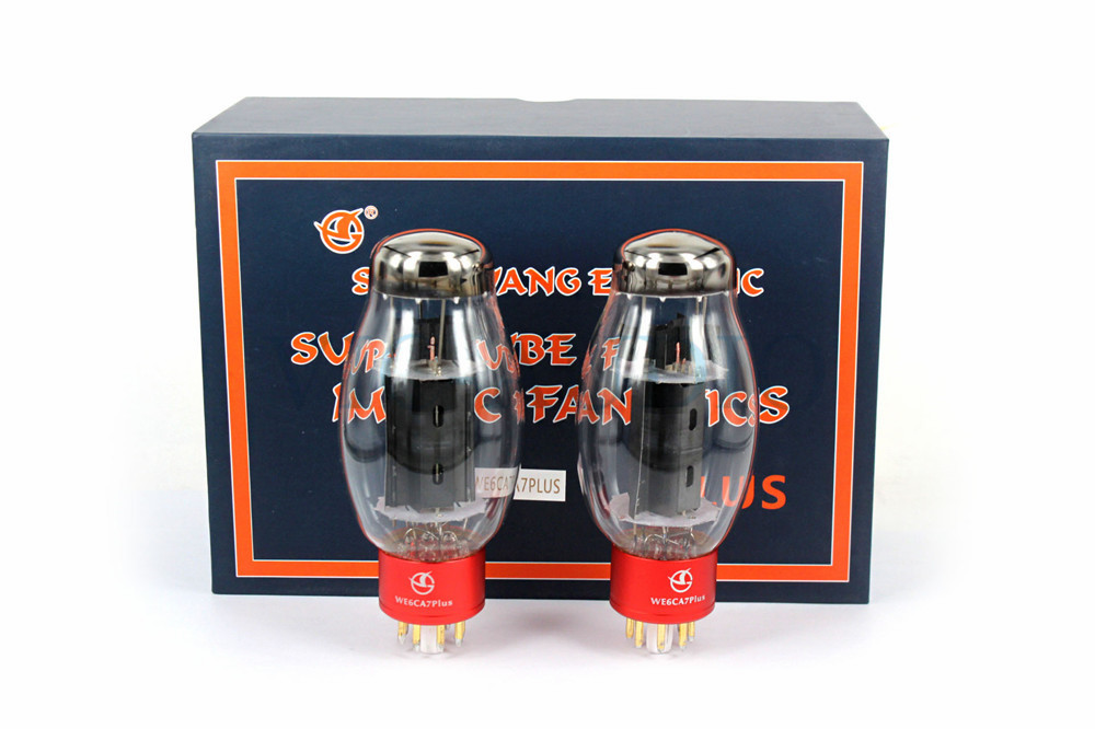 2PCS New SHUGUANG Tube WE6CA7 PLUS Vacuum Tube Replace EL34 EL34B 6P3P 6V6 6L6 6CA7 6CA7-Z Electron Tube Free Shipping2PCS New SHUGUANG Tube WE6CA7 PLUS Vacuum Tube Replace EL34 EL34B 6P3P 6V6 6L6 6CA7 6CA7-Z Electron Tube Free Shipping
