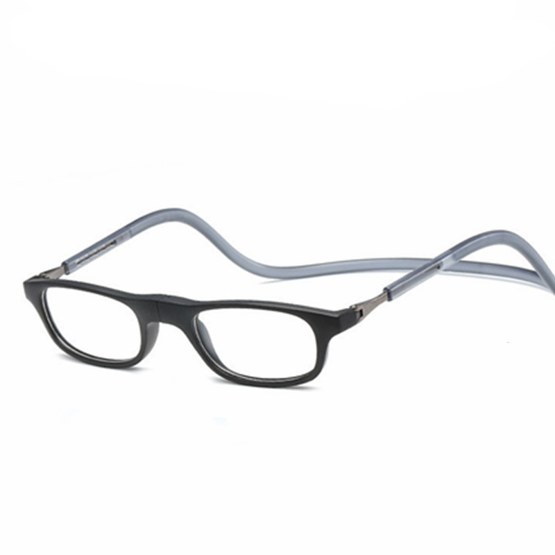 hanging reading glasses Retail 1pcs fashion Magnetic reading glasses colorful magnetic readers lenses power from +1.00 to +4.00