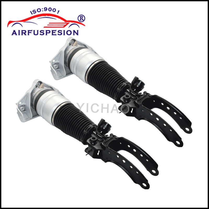Front Pair Oem Air Strut Spring: Pair Air Suspension Strut Front For AUDI Q7 For VW TOUAREG