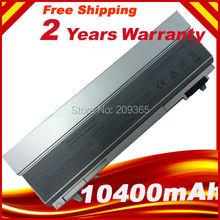 10400 мАч 12 ЯЧЕЕК батареи ноутбука для dell Latitude E6400 E6410 E6500 E6510. Precision M2400 M4400 M4500 M6400 M6500