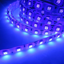 Buy uv led light strips and get free shipping on aliexpress 5m 5050 395 405nm 300 60 ledsm led strip light uv ultra violet mozeypictures Images