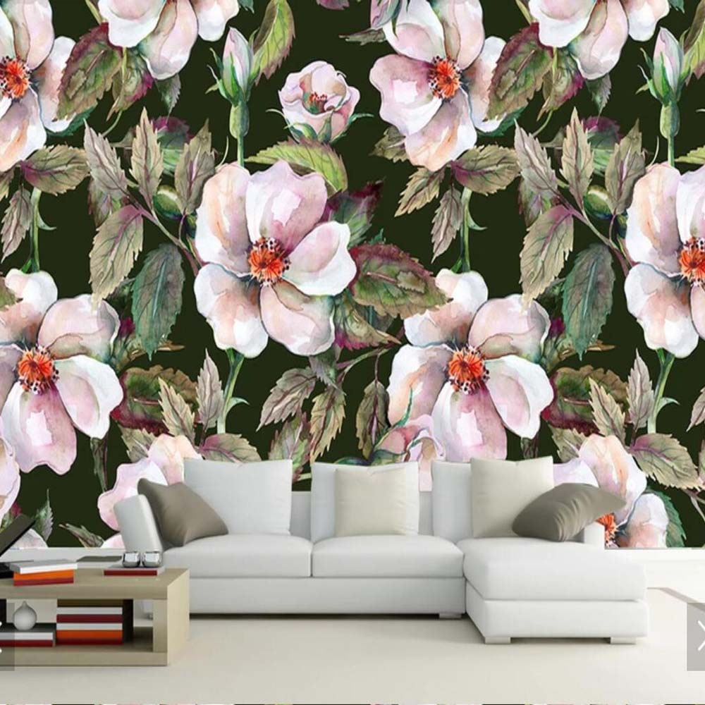 3D Murals Photo Wallpaper Rolls for Living Room Home Wall Decor Customize Landscape Flower Oil Painting Mural Custom Size